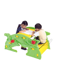 Dolphin Seesaw and Leaf Table, Green