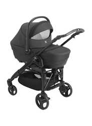 Cam Combi Family Romantic Travel System Baby Stroller, Black