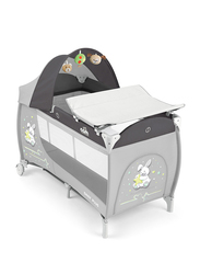 Cam Daily Plus Baby Travel Bed, Grey