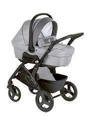 Cam Mod. Smart + Telaio Dinamico Up Baby Stroller, Grey/Black