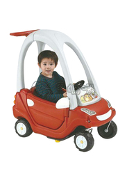 Aussie Baby Smart Coupe Car Kids Ride-On Toy, Red, Ages 1.5+