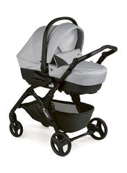Cam Fluido Easy Travel System Baby Stroller, Light Grey