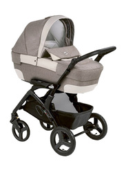 Cam Mod. Rover + Telaio Dinamico Up Travel System Baby Stroller, Beige/Black