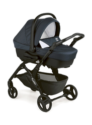 Cam Fluido Easy Travel System Baby Stroller, Navy Blue