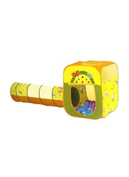 Butterfly Square Shape House and Tunnel with 100 Pieces 6cm Ball Set, Ages 2+