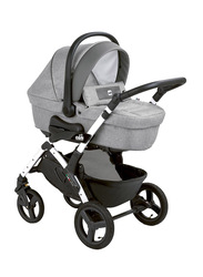 Cam Mod. Smart + Telaio Dinamico Up Baby Stroller, Grey/Silver