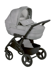 Cam Mod. Rover + Telaio Dinamico Up Travel System Baby Stroller, Grey/Black