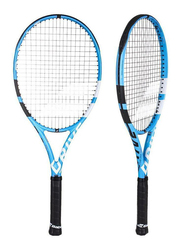 """Babolat Pure Drive Team Tennis Racket, Without Strings, L4 (4 1/2""""), Blue"""