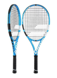 """Babolat Pure Drive Junior 26 Tennis Racket, With Strings, L00 (3 7/8""""), Blue"""