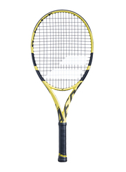 """Babolat Pure Aero Junior 26 Tennis Racket, With Strings, L00 (3 7/8""""), Yellow"""