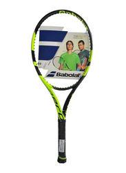 """Babolat Pure Aero+ Tennis Racket, Without Strings, L4 (4 1/2""""), Green"""