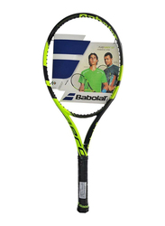 """Babolat Pure Aero+ Tennis Racket, Without Strings, L2 (4 1/4""""), Green"""