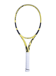"""Babolat Pure Aero Lite Tennis Racket, Without Strings, L2 (4 1/4""""), Yellow"""