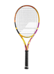 "Babolat Pure Aero Rafa 2021 Tennis Racket, L3 (4 3/8""), Yellow/Red/Black"