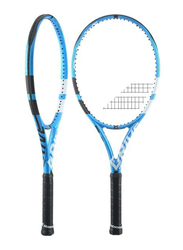 """Babolat Pure Drive Tennis Racket, Without Strings, L3 (4 3/8""""), Blue"""