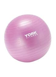 York Fitness Anti-Burst Gym Ball, 55cm, Pink