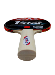Stag 1 Star Table Tennis Racket, Brown