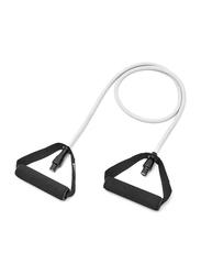 Adidas Resistance Tube, 144 x 12.5 x 2.8cm, Level 1, Black/Grey