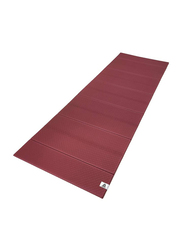 Reebok Foldable Yoga Mat, 180cm, Burgundy