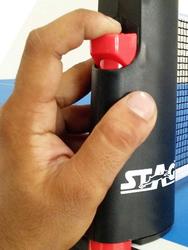 Stag Retractable Table Tennis Net, 5cm, Black