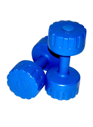 Stag PVC Professional Dumbbell, 2 Pieces x 3 Kg, Blue