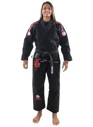 Atama F1 Mundial Gi Kimono for Women, Black/Pink