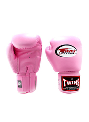 Twins Special 8oz BGVL3 Boxing Gloves, For Boxing/Muay Thai/MMA, Pink