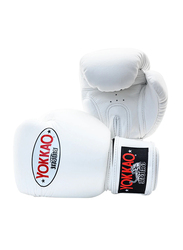 Yokkao 10oz Matrix Boxing Gloves, White