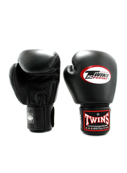 Twins Special 16oz BGVL3 Boxing Gloves, For Boxing/Muay Thai/MMA, Black