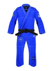 War Tribe A4 Ice Weave Gi Judo Kimono, Blue