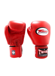 Twins Special 16oz BGVL3 Boxing Gloves, For Boxing/Muay Thai/MMA, Red
