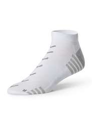 Base Low Rise Sport Socks, Small, White