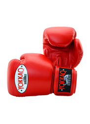 Yokkao 10oz Matrix Boxing Gloves, Red
