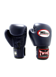Twins Special 10oz BGVL3 Boxing Gloves, For Boxing/Muay Thai/MMA, Navy Blue