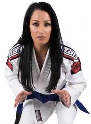 Tatami Fightwear F2 Nova Mk4 Bjj Gi Kimono with Included Free White Belt for Ladies, White