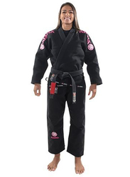 Atama F4 Mundial Gi Kimono for Women, Black/Pink