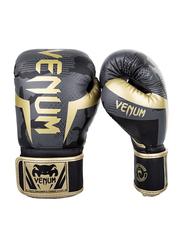 Venum 12oz Elite Boxing Gloves, Camo Gold