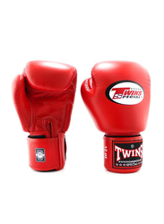 Twins Special 8oz BGVL3 Boxing Gloves, For Boxing/Muay Thai/MMA, Red
