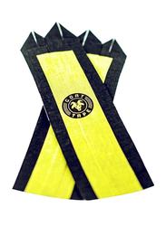 Goat Tape Natural Grips, Size 9-10, Black/Yellow