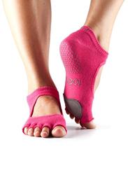 Toesox Half Toe Plie Socks, Small, Fuchsia