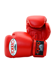 Yokkao 12oz Matrix Boxing Gloves, Red