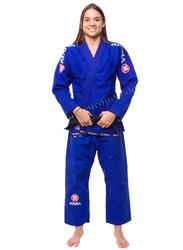 Atama F3 Gi Mundial Kimono for Women, Blue/White