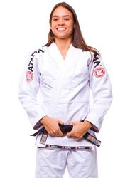 Atama F3 Gi Mundial Kimono for Women, White/Black
