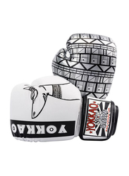Yokkao 10oz Anubis Boxing Gloves, White