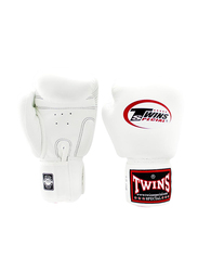 Twins Special 10oz BGVL3 Boxing Gloves, For Boxing/Muay Thai/MMA, White