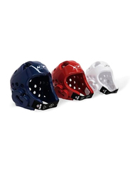 Daedo Extra Small WTF Recognized Head Gear, Red