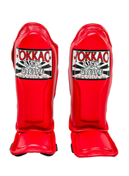 Yokkao Small SYGPK-V-2 Vertigo Kids Martial Arts Shin Guards, Red