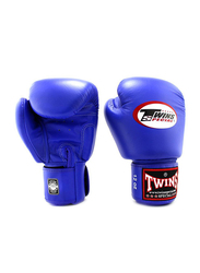 Twins Special 12oz BGVL3 Boxing Gloves, For Boxing/Muay Thai/MMA, Blue