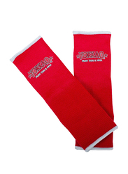 Yokkao AY-2-STD Muay Thai Ankle Guards, Red