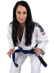 Tatami Fightwear F3 Japan Series Samurai Gi Kimono for Ladies, White